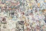 Empreintes / 73x81 cm / 2003 / Acrylique Collage Encre