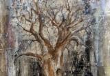 Arbre de Vie / 35x22 cm / 2012 / Acrylique Collage Encre