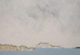 Fenêtres sur Mer / 100x100 cm / 2018 / Acrylique Collage Encre